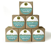 Case of Cocoa Mint Boxes [ Gluten Free Flour ] - 12 Gift Boxes