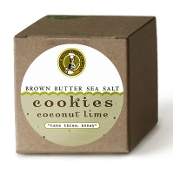 Gift Box Coconut Lime - One Dozen Cookies